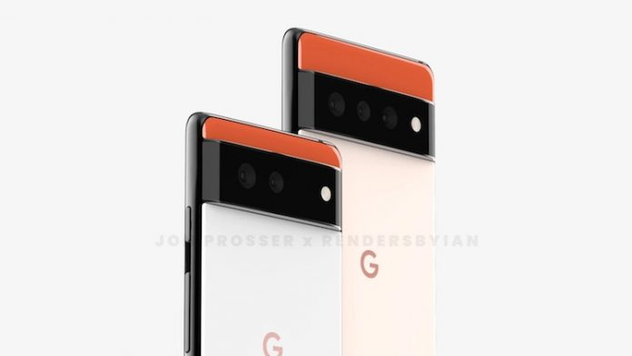 Upcoming flagship Google Pixel 6 introduced in a completely new design