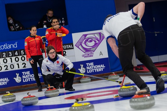 Curling in Scotland, mixed doubles world championships