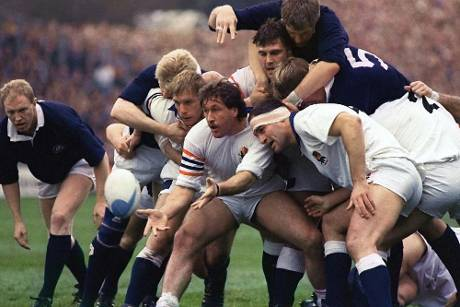 First international match in rugby history