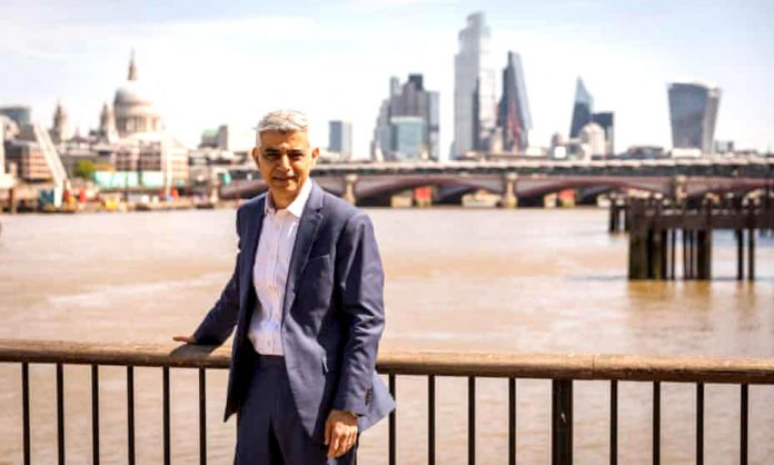 Sadiq Khan was elected mayor of London, but Johnson and Sturgeon also smiled.