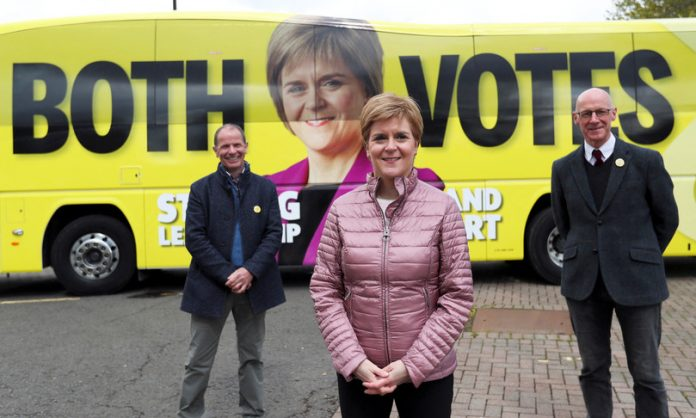 Scotland to vote with the dream of independence