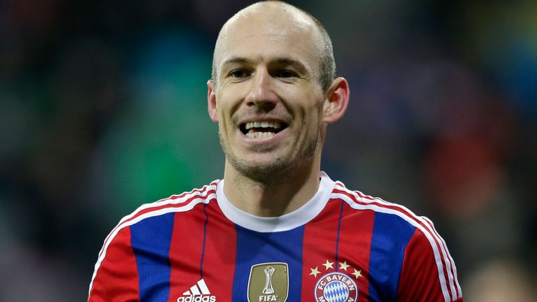 Robben has won Champions League and Championship titles in England, Germany, Netherlands and Spain in his illustrious career