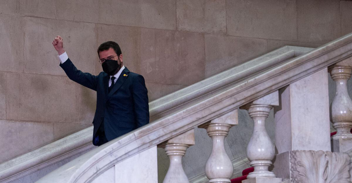 The new head of the separatist Aragon government in Catalonia