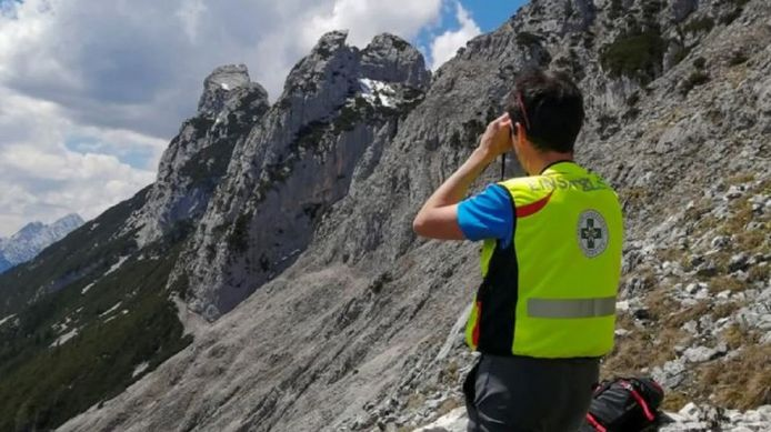 The search for the missing German climber continued yesterday in Leutash and Schernitz.