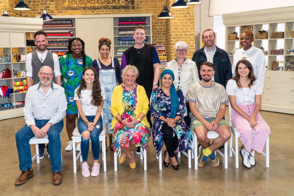 12 amateur sewers try to impress the judges in 2021 The Great British Sewing Bee