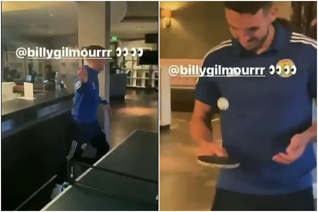 Positive Gilmour and a video disappears from social networks