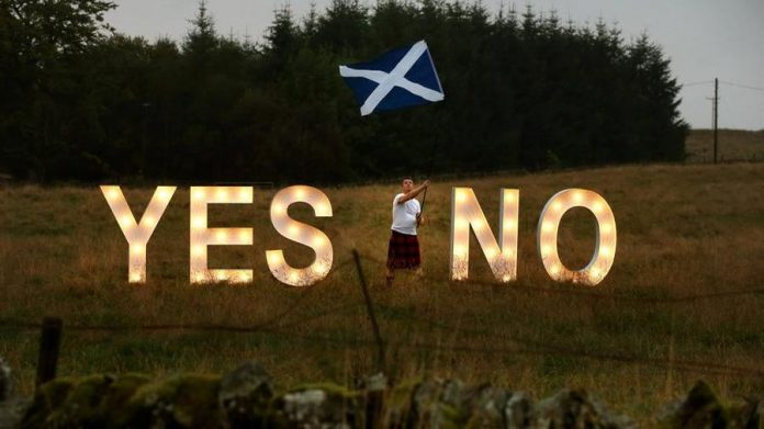 Scotland, 5 years ago that unwanted Brexit which now encourages independence.  Waiting for EU aid