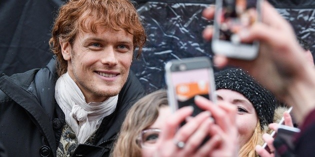 Sam Heughan wakes up to the annoyance of his fans: For what reason?