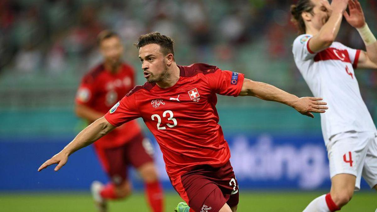 Shaqiri's highlight against Turkey was the range highlight of the group stage.