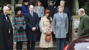 Meghan Markle, Prince Harry, Prince William, Duchess Kate and Prince Philip