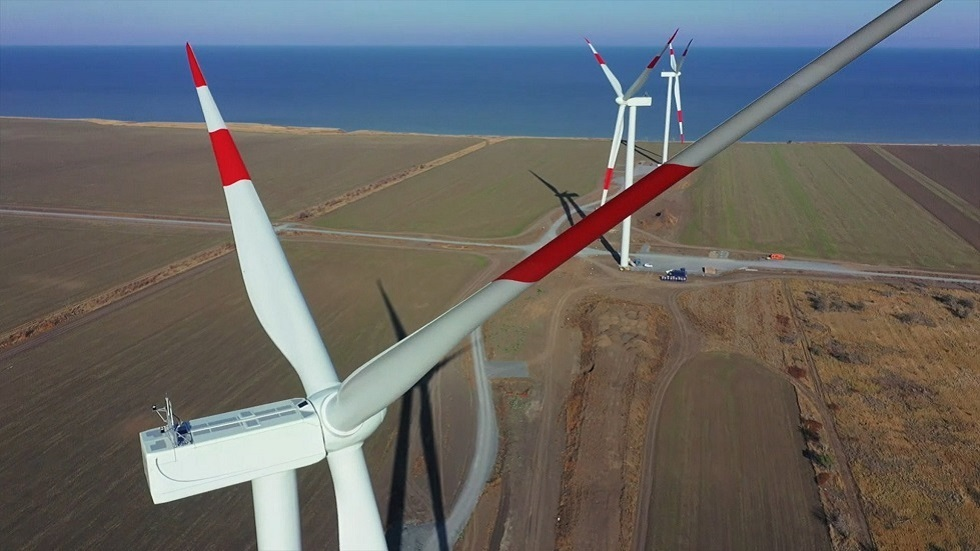Construction of 90MW electric wind farm in southern Russia