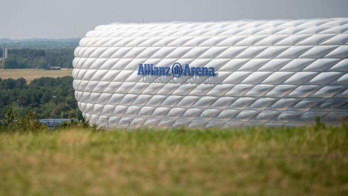 But there is no EM game at FC Bayern's Allianz Arena?  Munich as host not yet decided