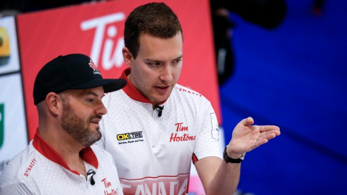 Canada opens the World Curling Championship 9-6 over Scotland
