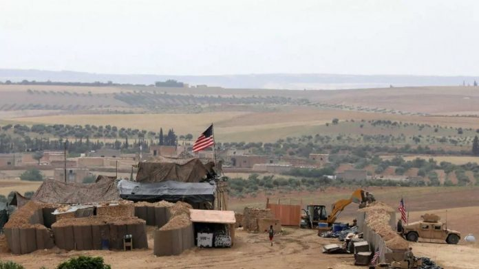 In response to US strikes, groups loyal to Iran attack a military base in Syria
