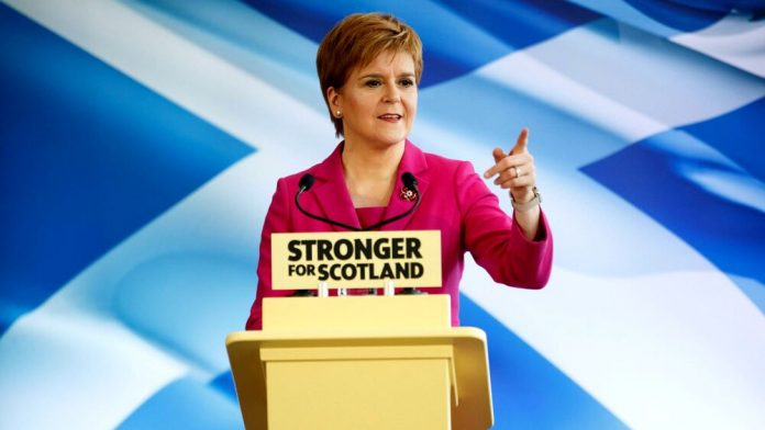 Mass voting in UK elections led Scotland to independence