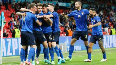 Italy will take on Belgium for a place in the last four of the competition.