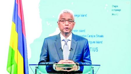PM Jugnauth reveals country's ambition after launch of MIR-SAT1 satellite
