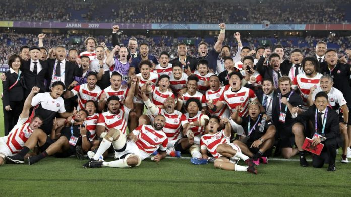 Rugby World Cup: Japan beat Scotland to reach quarter-finals for the first time