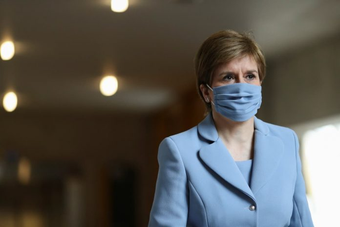Sturgeon says Scotland will vaccinate teenagers as soon as possible if movement gets the go-ahead