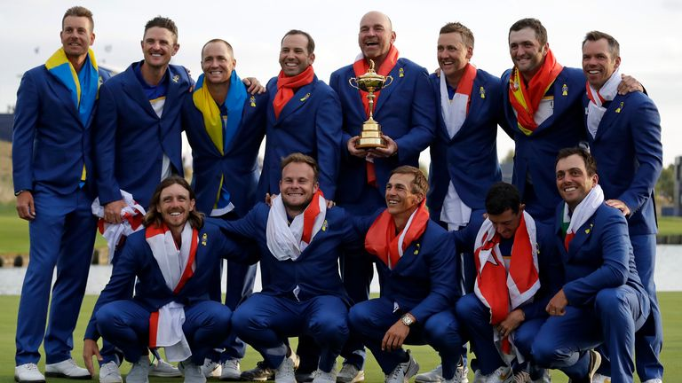 Thomas Bjorn guides Team Europe to 17.5-10.5 win at Golf Nationals in 2018