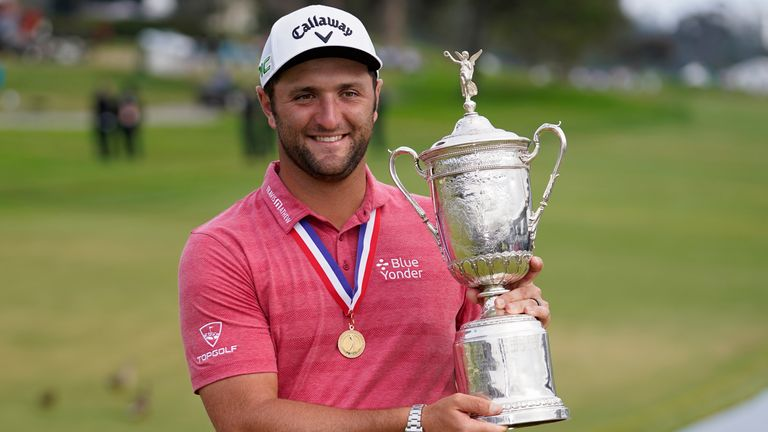 Jon Rahm birdies his last two holes and takes a one-shot victory at Torrey Pines
