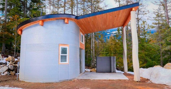 Canada's first 3D printed accommodation is now bookable