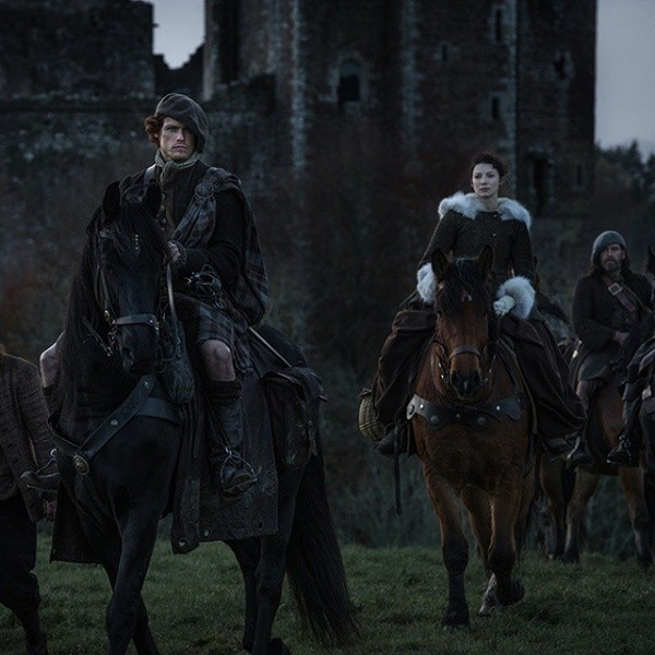 Claire and Jamie in the first few seasons.  Photo: (Starz)