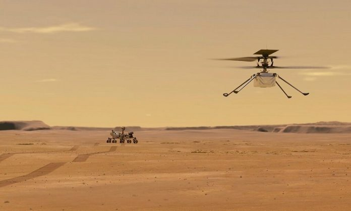 Software helps NASA helicopters fly successfully to Mars