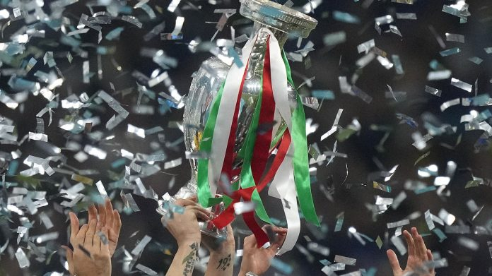 Italy's victory was celebrated across Scotland