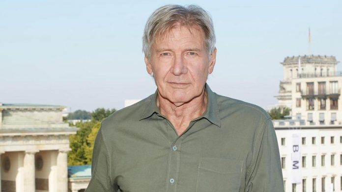 Harrison Ford absent from