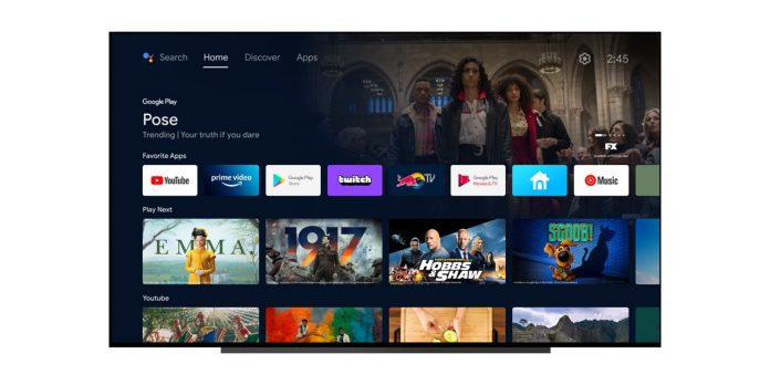 Android TV improves with the arrival of a new beta of Android 12