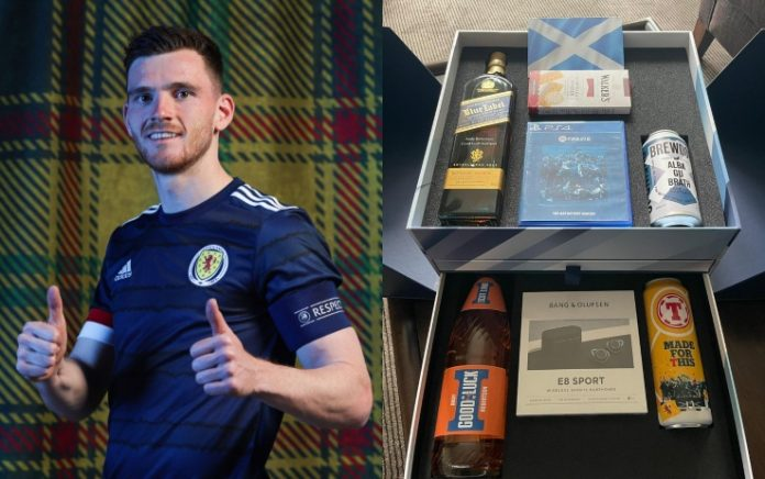 'Special' gift from Scotland, Robertson to fellows and staff for Europeans