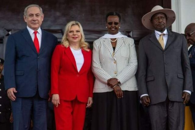 Former Israeli Prime Minister Benjamin Netanyahu is on a visit to Uganda as part of a mission to strengthen ties with Africa