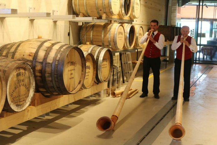 Amlikon-Bissegg: Marcardo Swiss distillery's new barrel storage facility is the first in the world