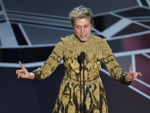 The US Film Festival begins with the play Macbeth starring Frances McDormand.  Photo: Chris Pizzello/InVision/AP/DPA Photo: DPA