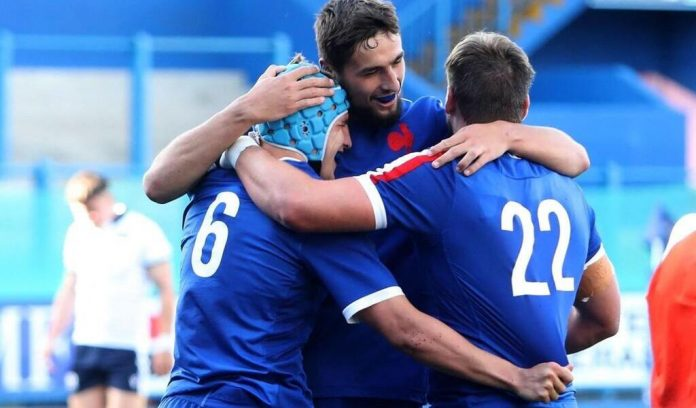 6 Nations U20.  France wins wide against Scotland and adds third success