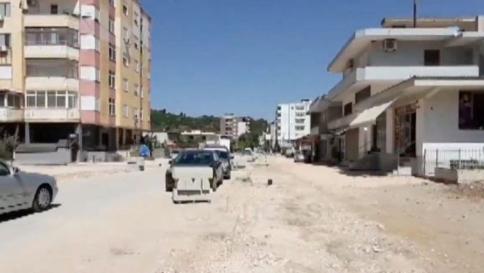 A mass grave found in the Albanian city of Permet