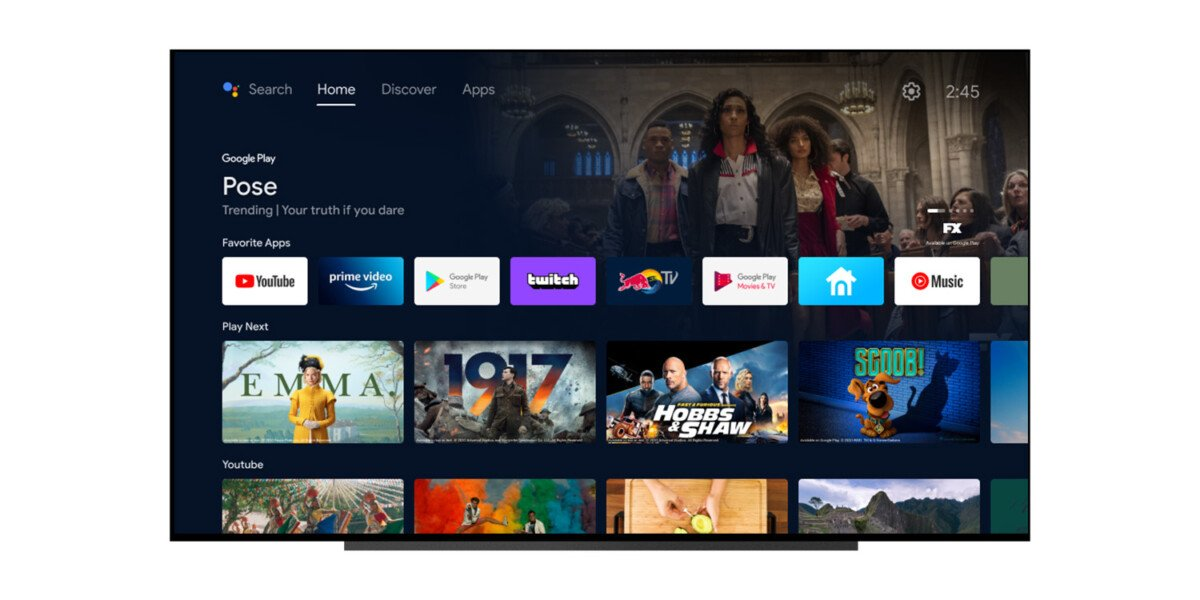 Android TV gets enriched with some interesting new features with the arrival of Android 12 in beta 3 a few days ago
