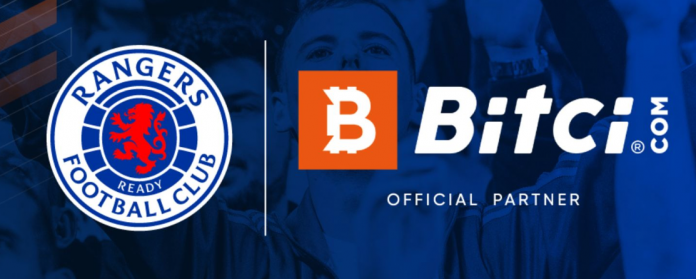 Big Success for Glasgow Rangers Fan Token Bitci .  launched on