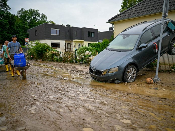 Germany floods 2021 Climate change: Europe floods: two months of rain when two days of rain - Europe floods 2021 explained in Germany and Belgium