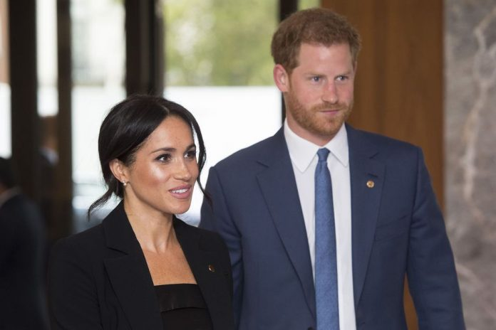 Harry and Meghan with celebrities demanding vaccination