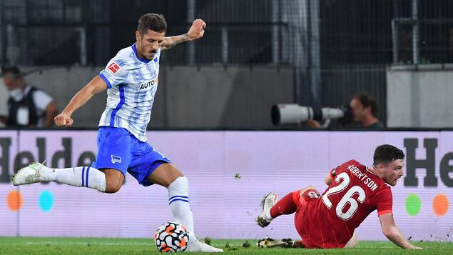 Hertha after win against Liverpool: An exclamation mark from Hertha BSC - and Steven Jovetic - Sport