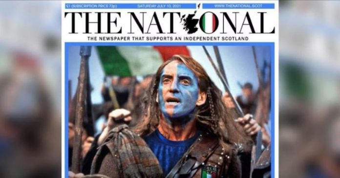 Italy, Scotland also with you: