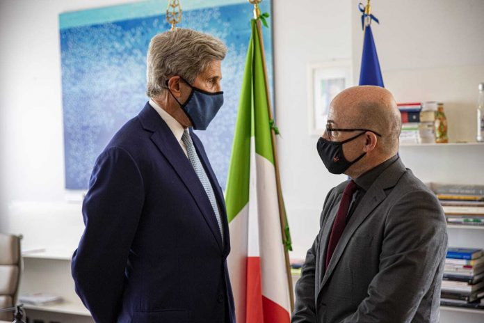 Italy-US agreement between Singolani and Kerry for G20 environment