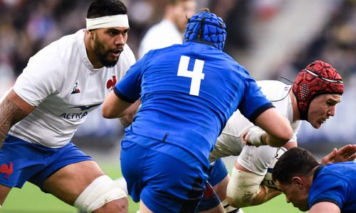 Le Roux and Taofeifenua join up against Scotland