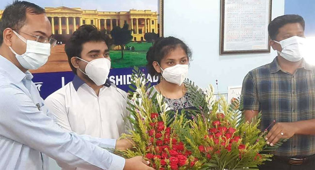 Muslim student is ambassador of government project in West Bengal