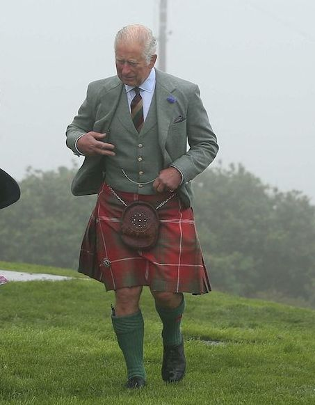 Prince Charles: His appearance in a lehenga during his visit to Scotland