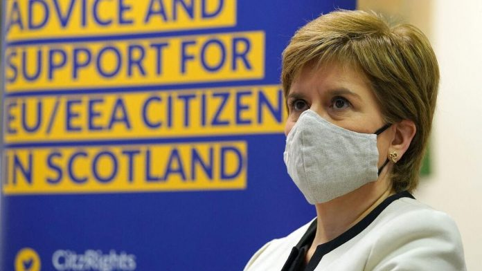 Restrictions loosen in Scotland, but masks remain in place