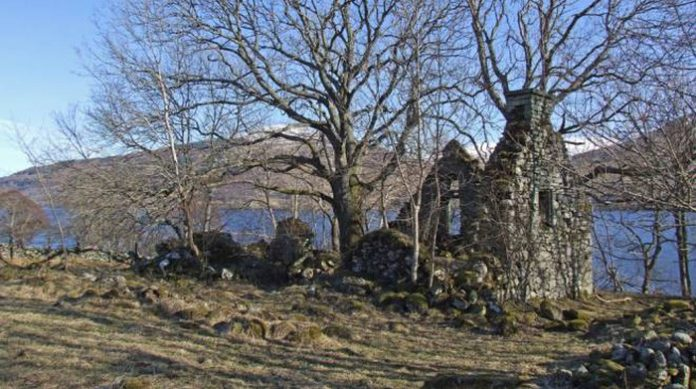 Scotland, Abandoned Village of Lords with Ghost Attached for Sale