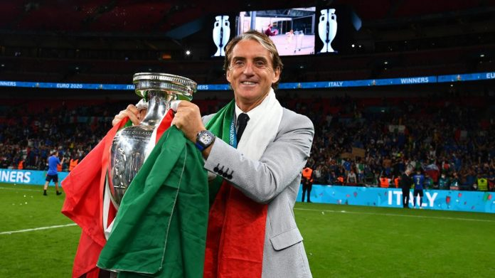 Scottish newspaper The National will give life membership to Mancini and Italian players